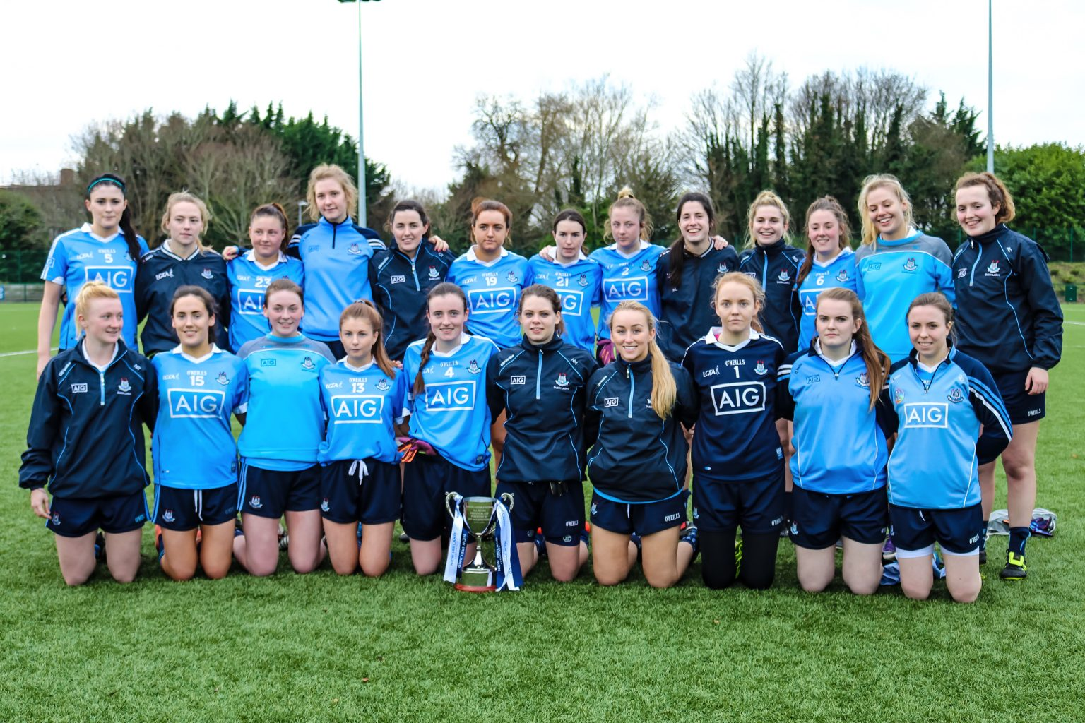 Picture of the Dublin's Senior Ladies Football Team After Victory In The 2016 Dubs Stars Game