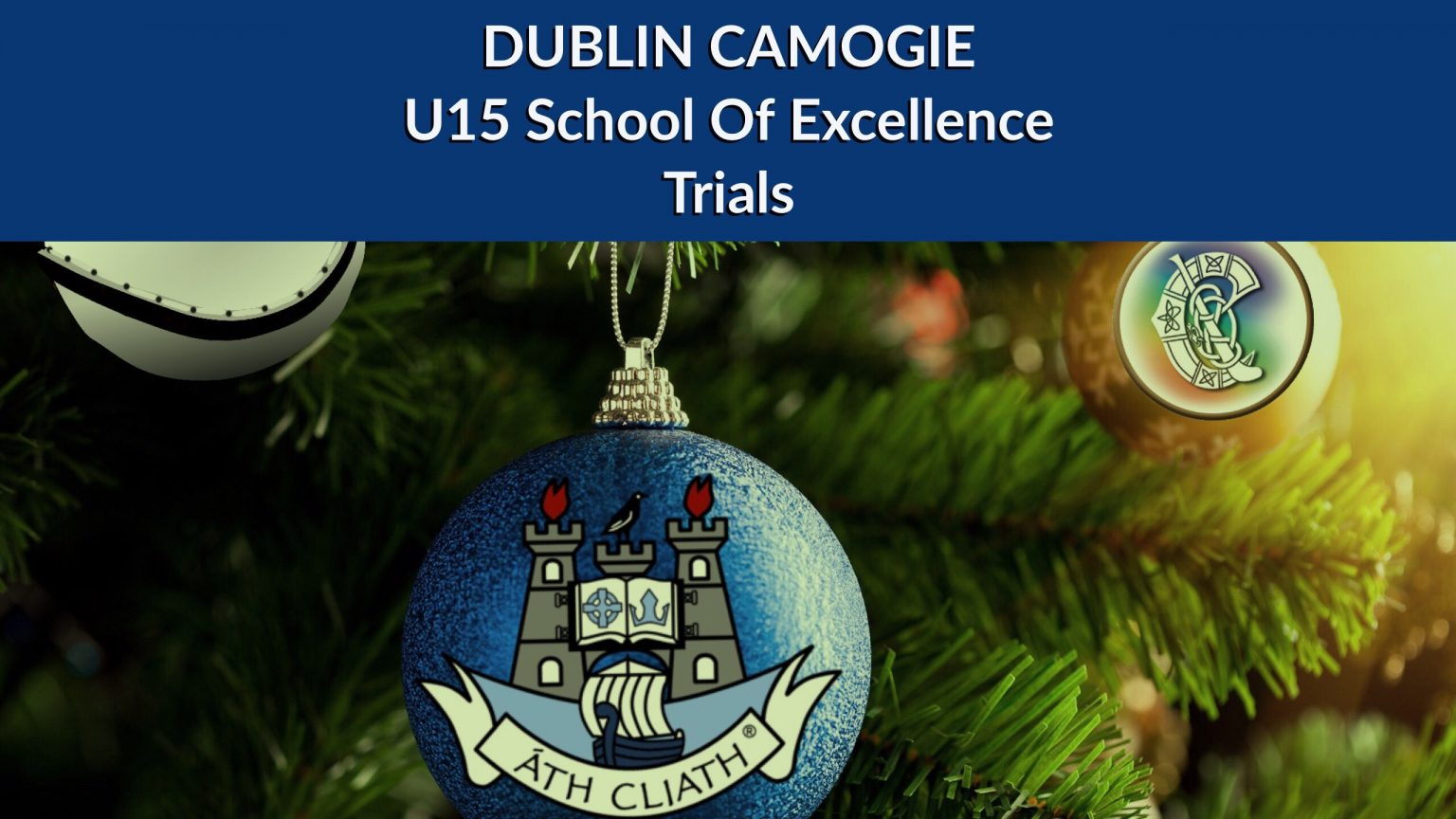 DUBLIN CAMOGIE COUNTY BOARD SEEK NOMINATIONS FOR U15 SCHOOLS OF EXCELLENCE TRIALS