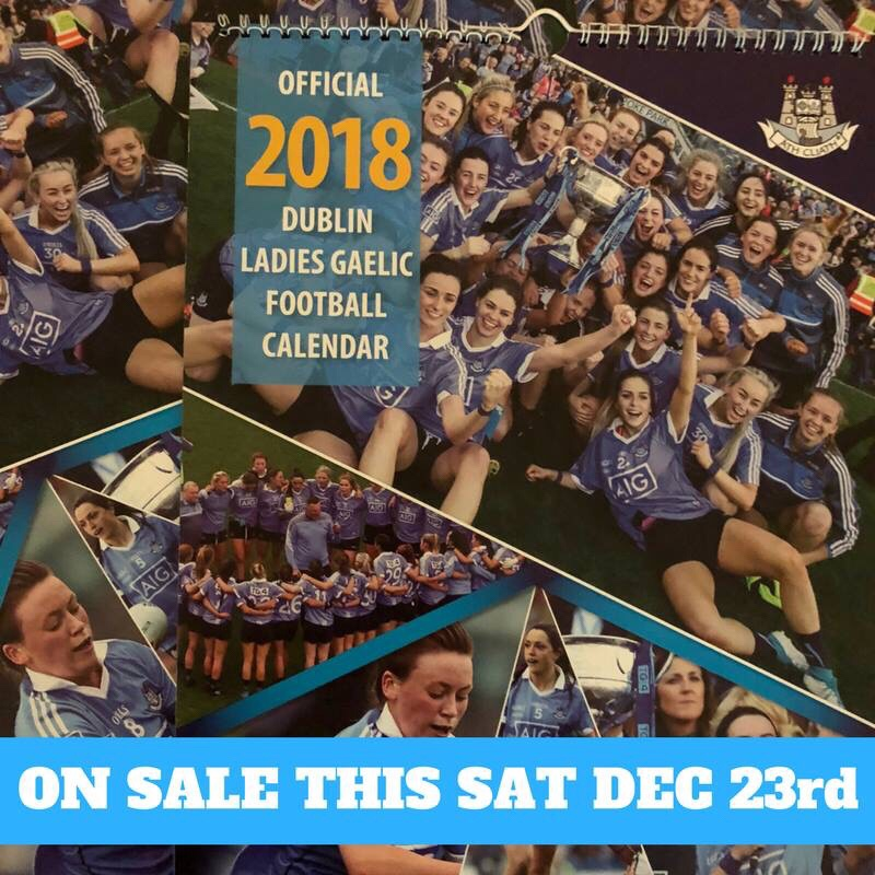 Image of the 2018 Dublin Ladies Football Calendar