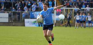 Philly McMahon in action against Monagha