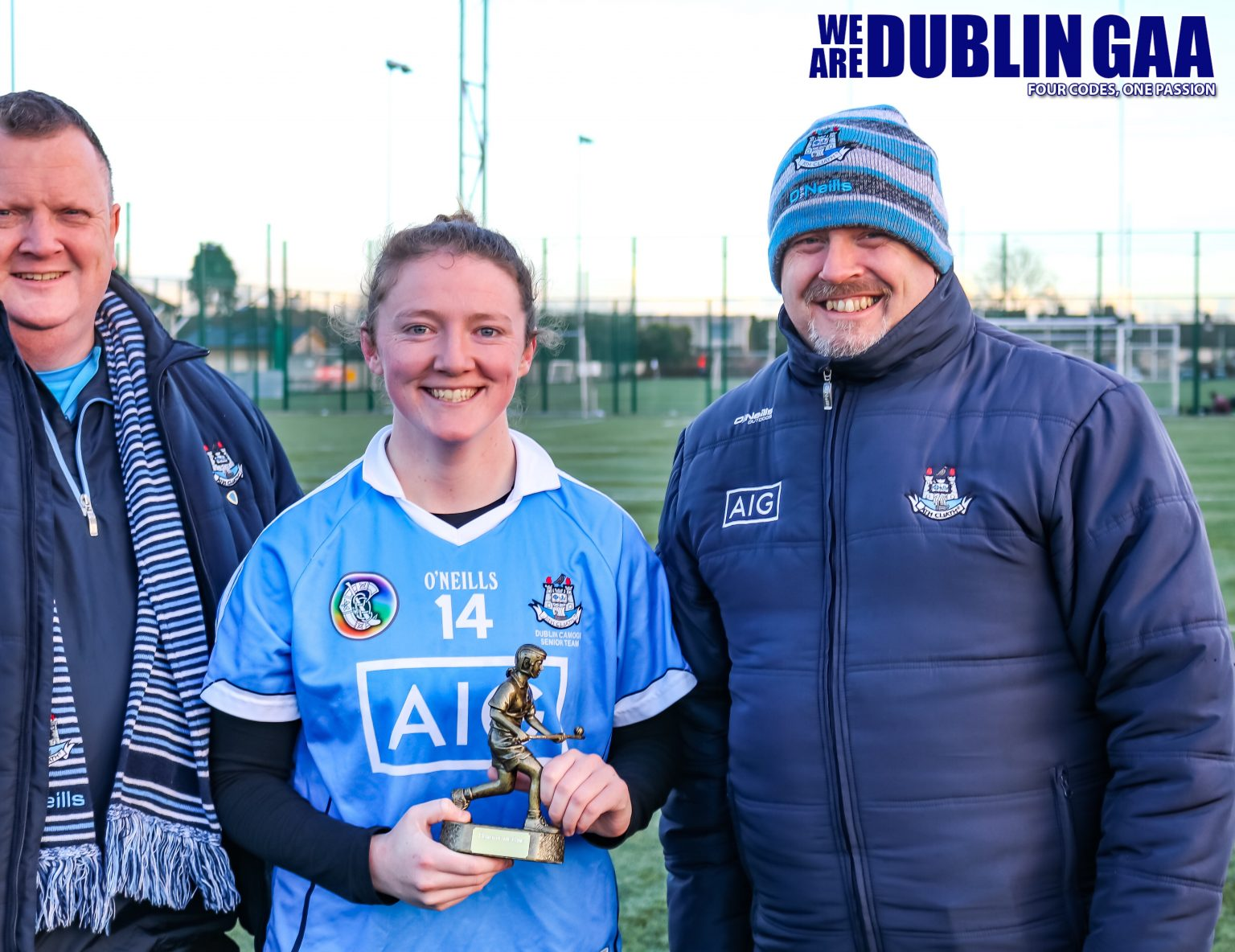 Image Of Player Of The Match Dublin's Zoe O'Donoghue
