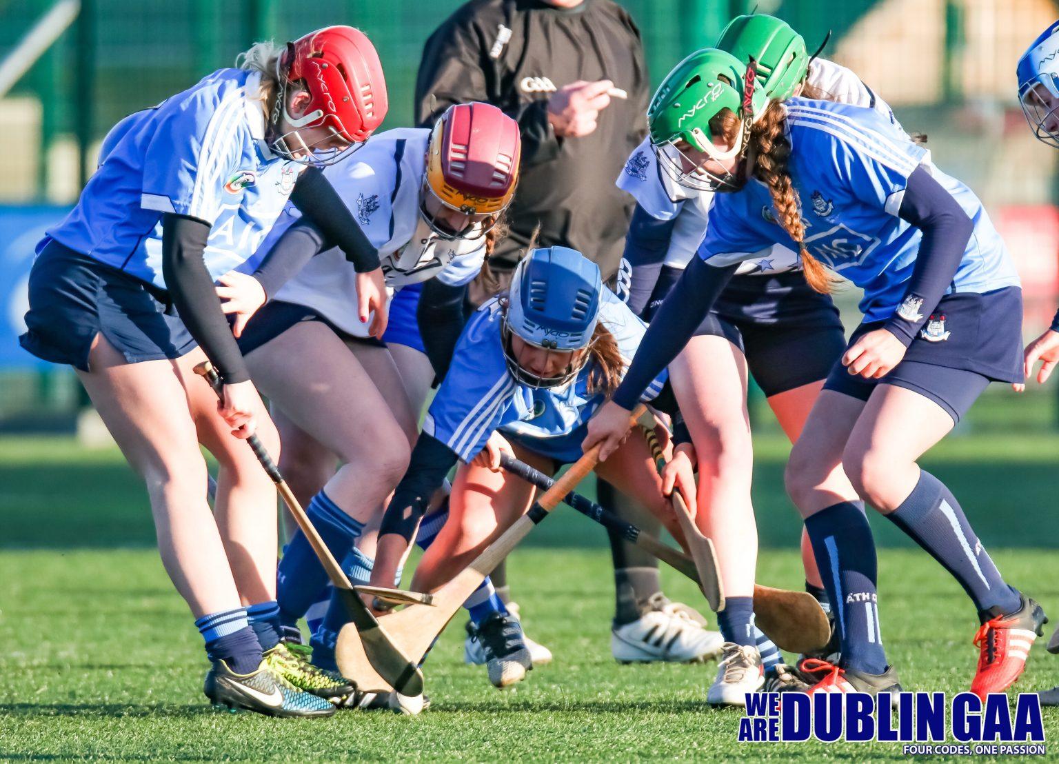 Dublin Senior and Dubs Stars Players Battle For Possession