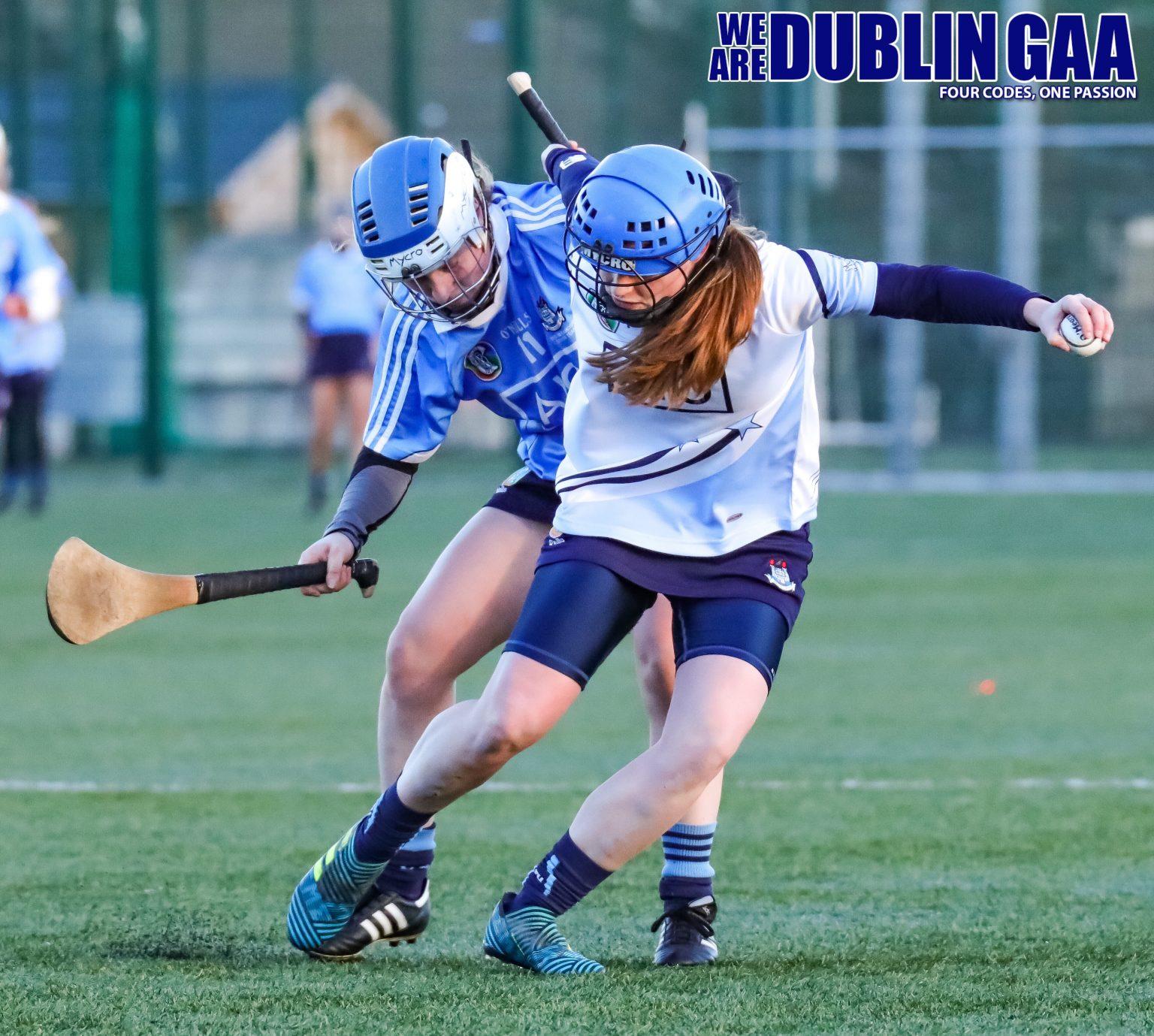 Arlene Cushin From The Dubs Stars Battling With Dublin's Róisín Baker