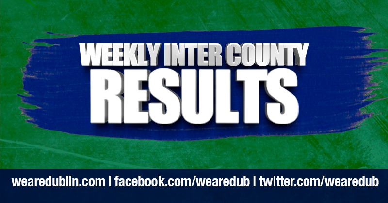 Dublin GAA Weekly Inter County Results