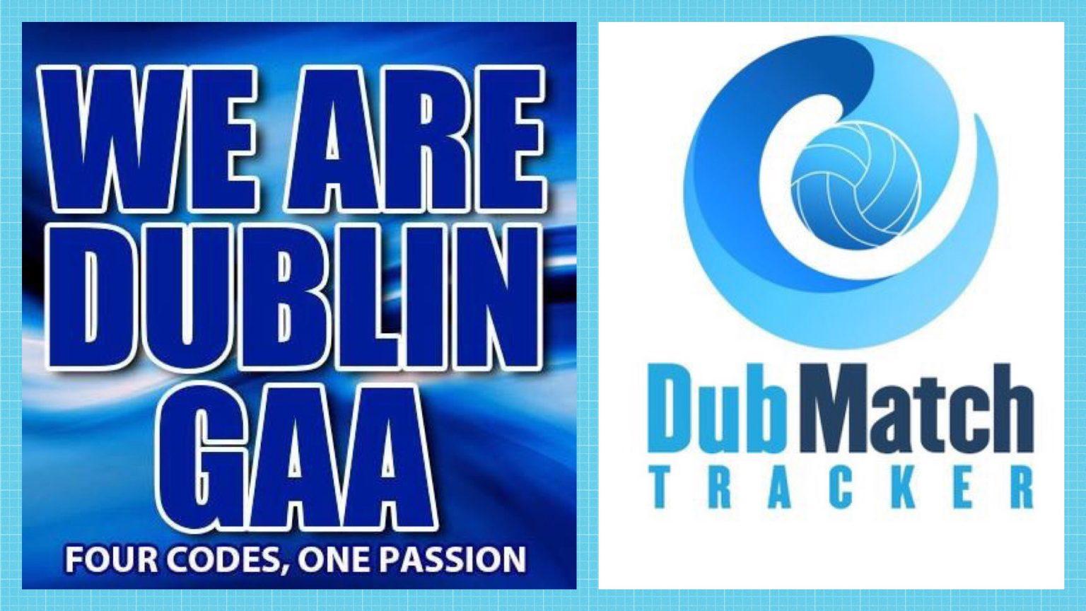 Logos Of We Are Dublin GAA and Dub Match Tracker
