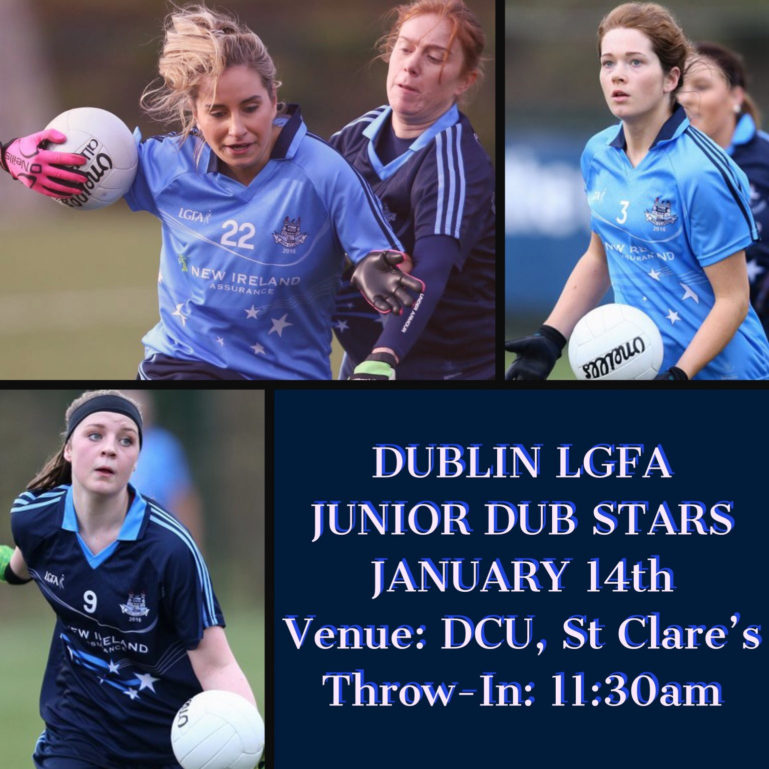 NEW IRELAND ASSURANCE DUBLIN LGFA JUNIOR DUB STARS