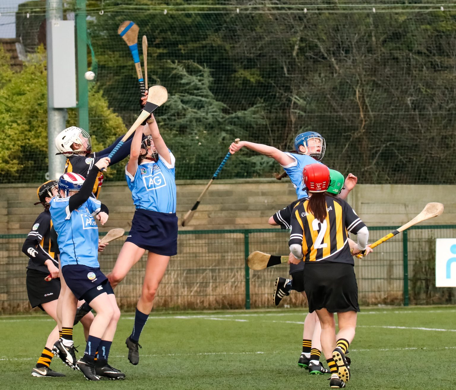 Action From The Dublin v Kilkenny Littlewoods Ireland Camogie League Division 1 Game