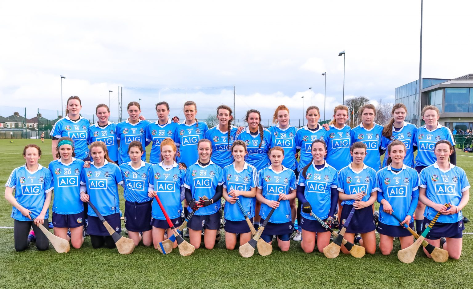 Dublin Senior Camogie Squad Before Their Littlewoods Ireland Camogie League Clash With Kilkenny