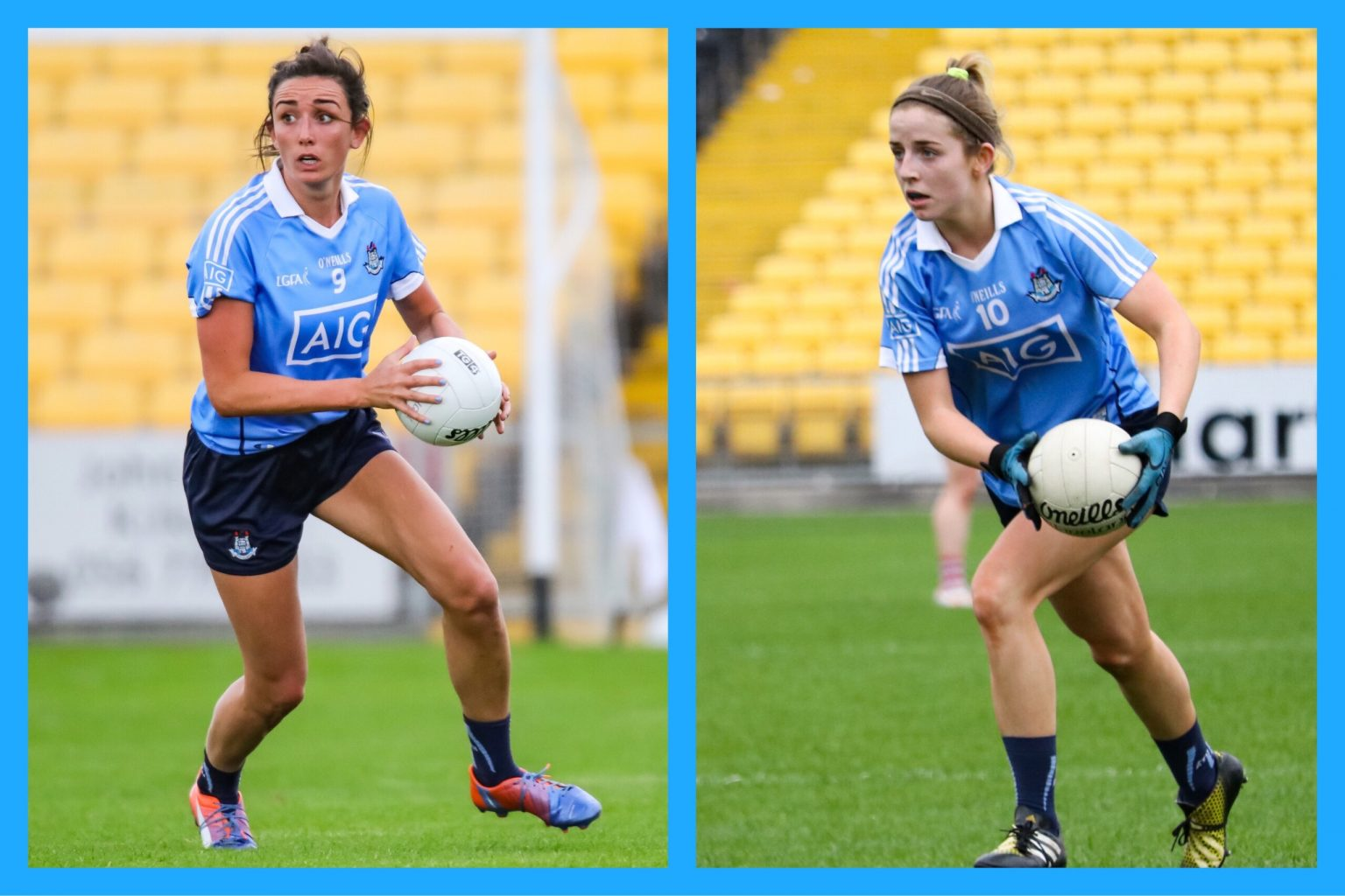 Image Of Dublin Goal Scorers Niamh McEvoy And Rebecca McDonnell