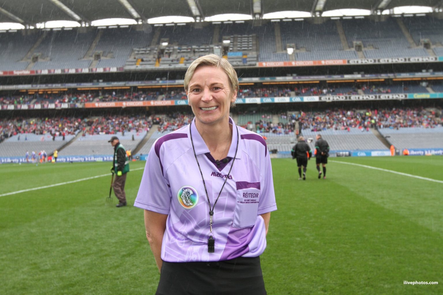 New Dublin Camogie Chairperson Jenny Byrne From Round Towers GAA Club.