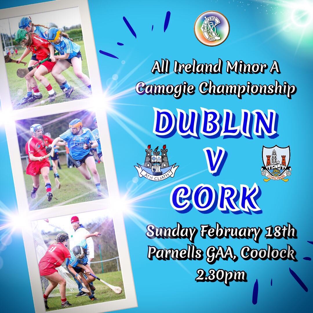 DUBLIN MINOR TEAM NAMED FOR OPENING CHAMPIONSHIP GAME AGAINST CORK