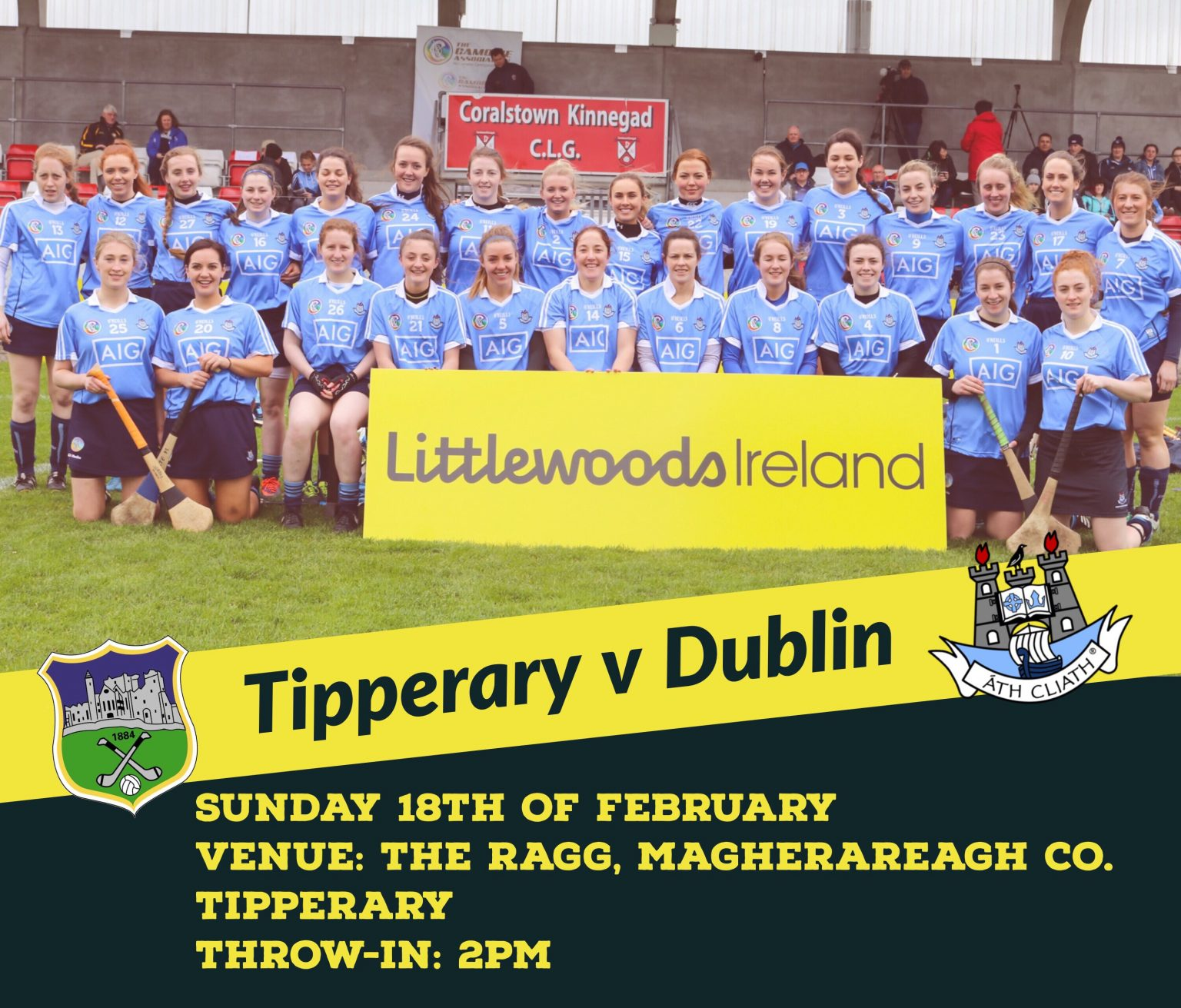 The Dublin Premier Junior Camogie Squad Begin Their Division 2 League Campaign This Sunday Away To Tipperary.