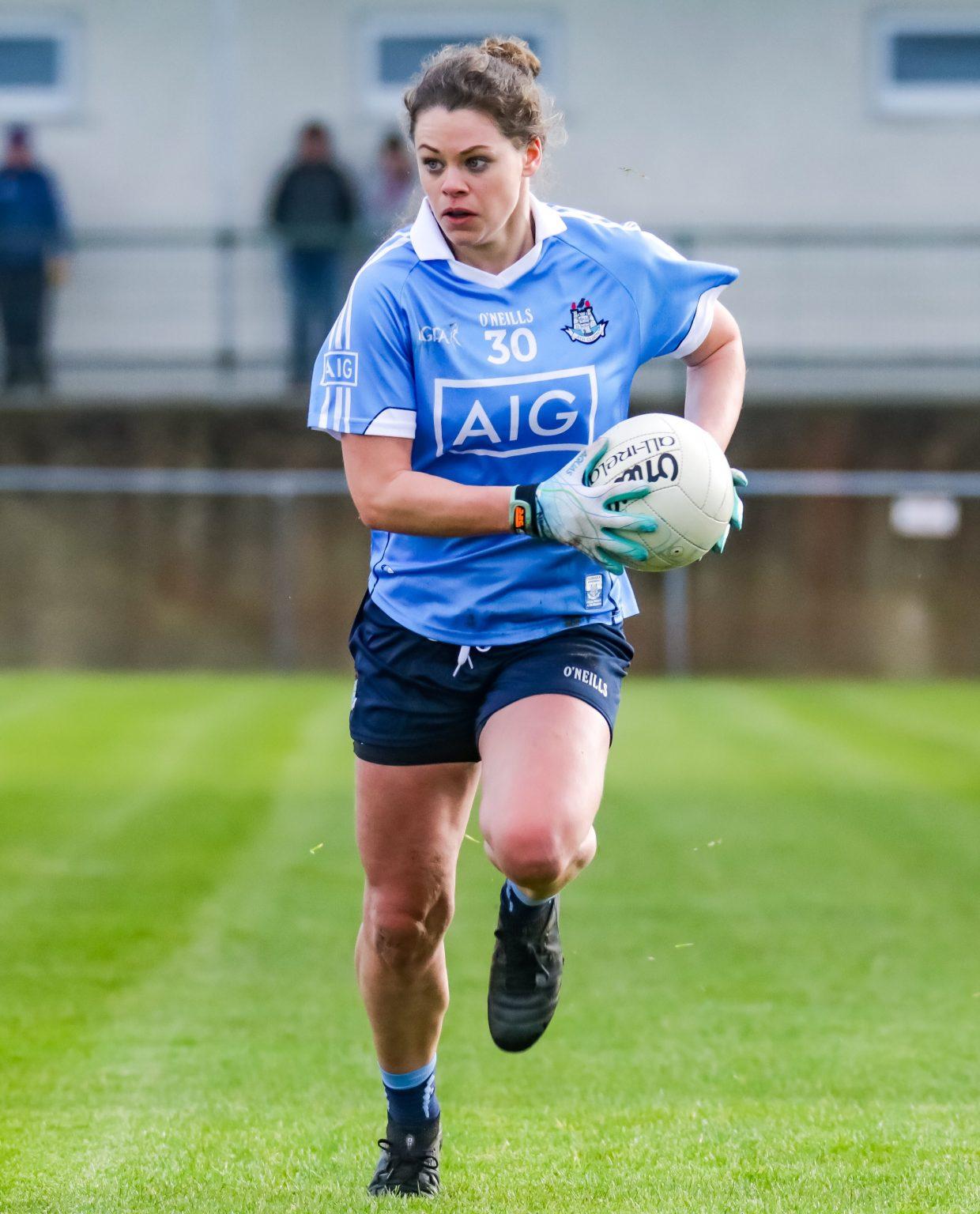 Dublin's Noelle Healy In Action Against Westmeath In Last Weeks Lidl Ladies National Football League Game In Mullingar.