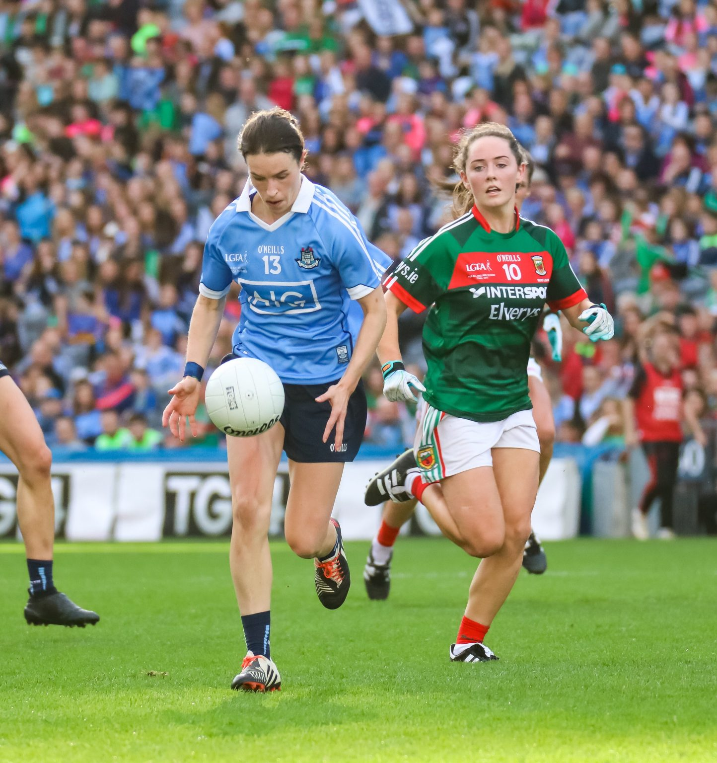 Dublin LGFA Urge Fans To Arrive Early And Support The Ladies Senior Football Team Against Mayo