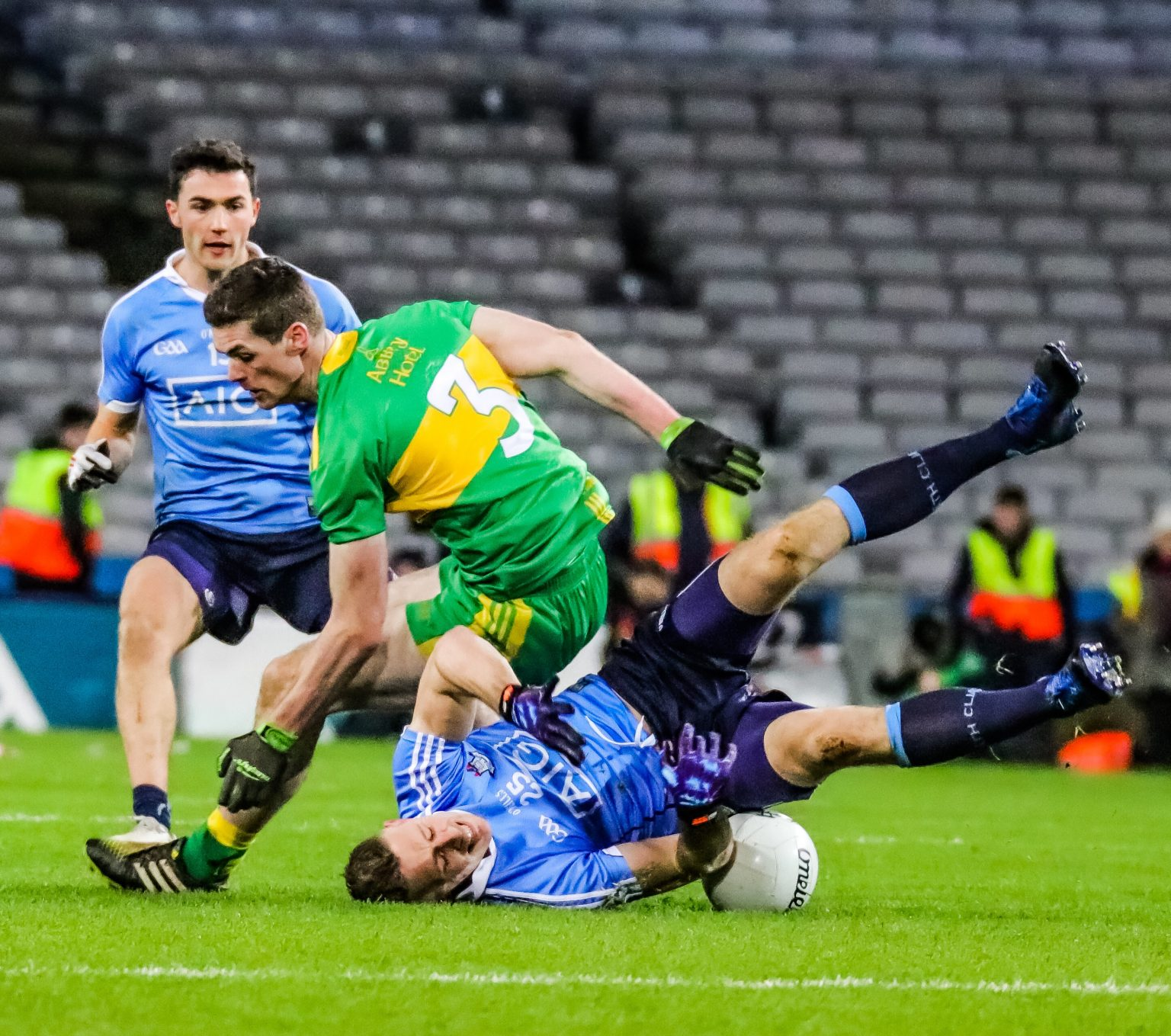DUBLIN FINISHES STRONGLY TO SEE OFF DONEGAL FOR THIRD STRAIGHT LEAGUE VICTORY