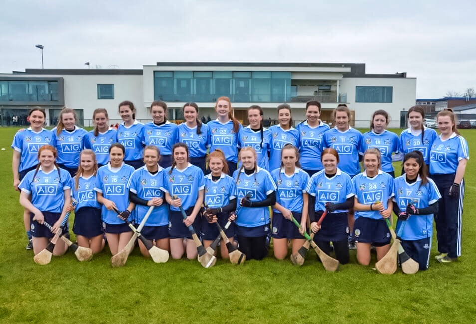 Dublin Squad Ahead Of Today's All Ireland Minor Camogie Championship Game Against Cork