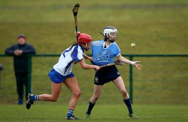 Dublin's Siobhan Kehoe In Action Against Waterford In Their Littlewoods Ireland Camogie Leagues Division 1 Game