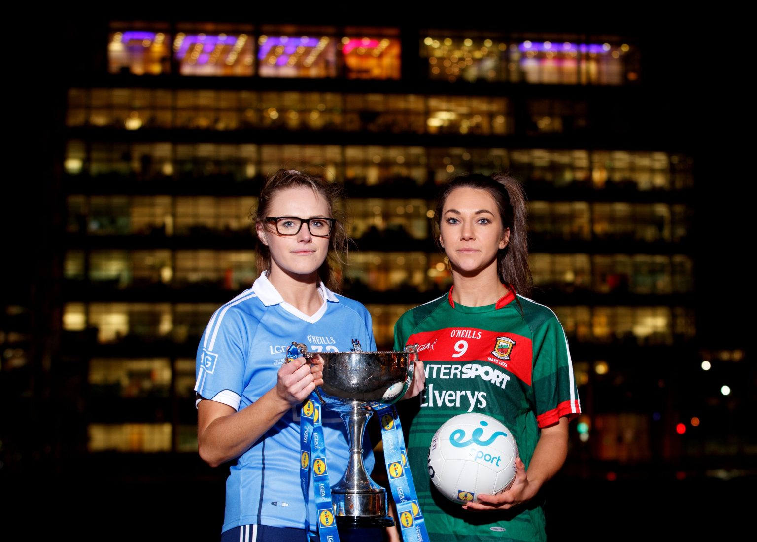Dublin And Mayo Renew Their Rivalry This Evening In The Lidl Ladies National Football League In McHale Park In Castlebar