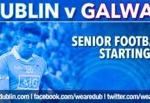 Dublin Senior Football starting 15