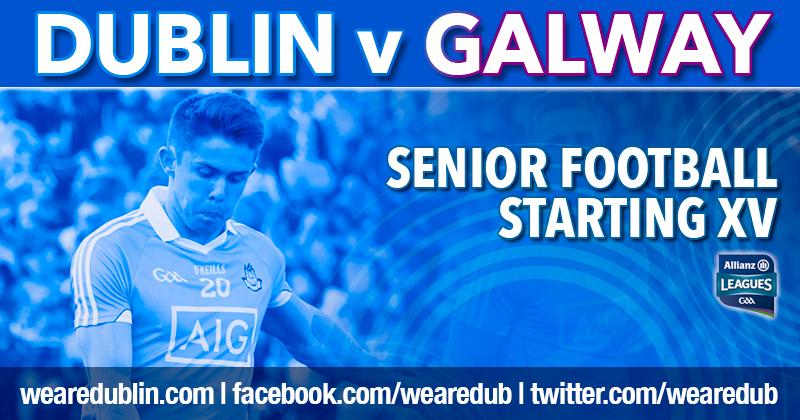 Dublin Name Starting 15 For Allianz League Division 1 Final