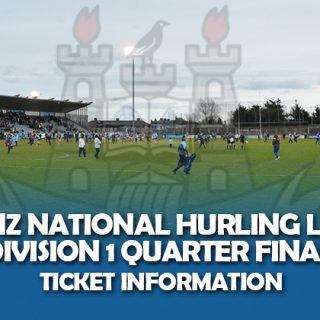 Ticket Information - Allianz Hurling Quarter Final