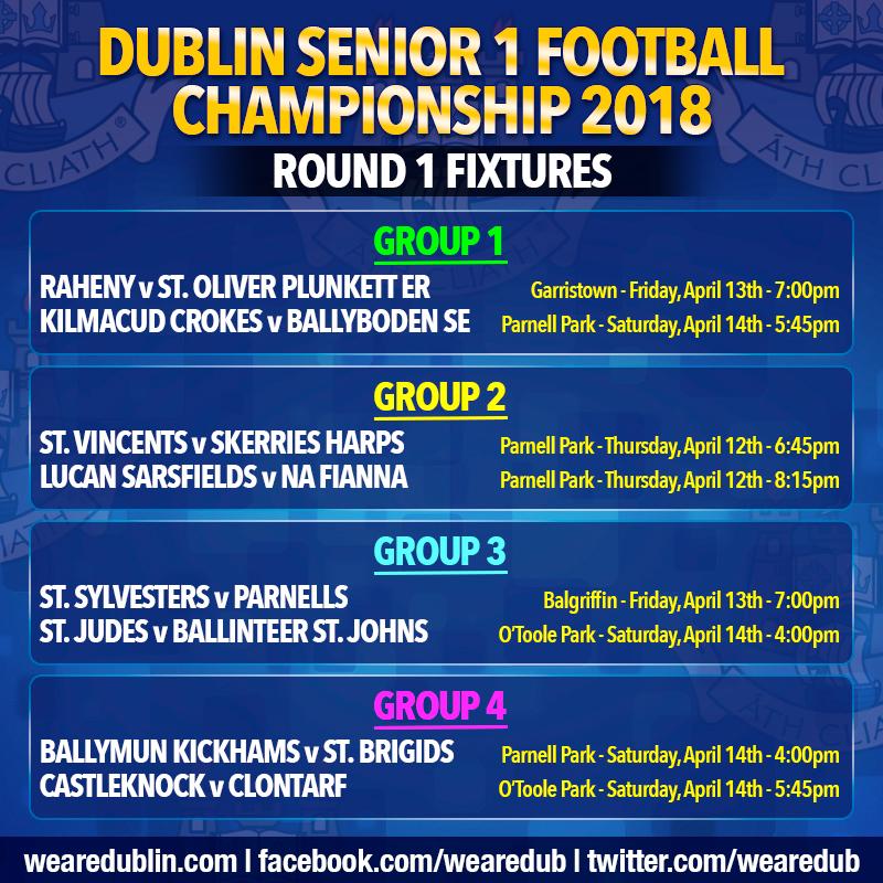 Senior Football Championship 1 Round 1