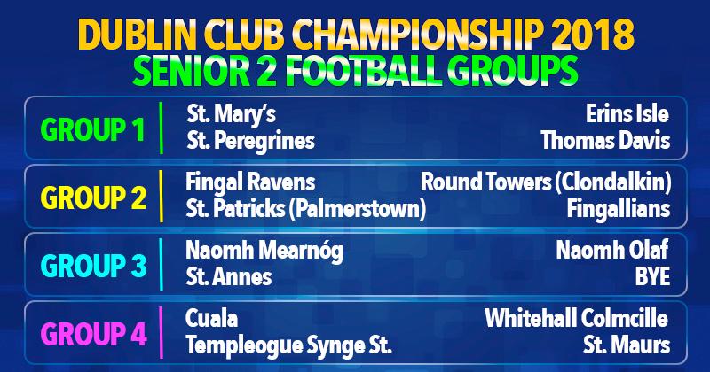 Dublin Senior Championship - Senior 2 Football