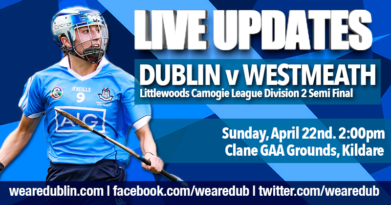 Littlewoods Camogie League Division 2 Semi Final – Live Updates