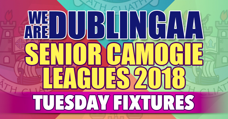 We Are Dublin GAA Senior Camogie League – Tuesday Fixtures
