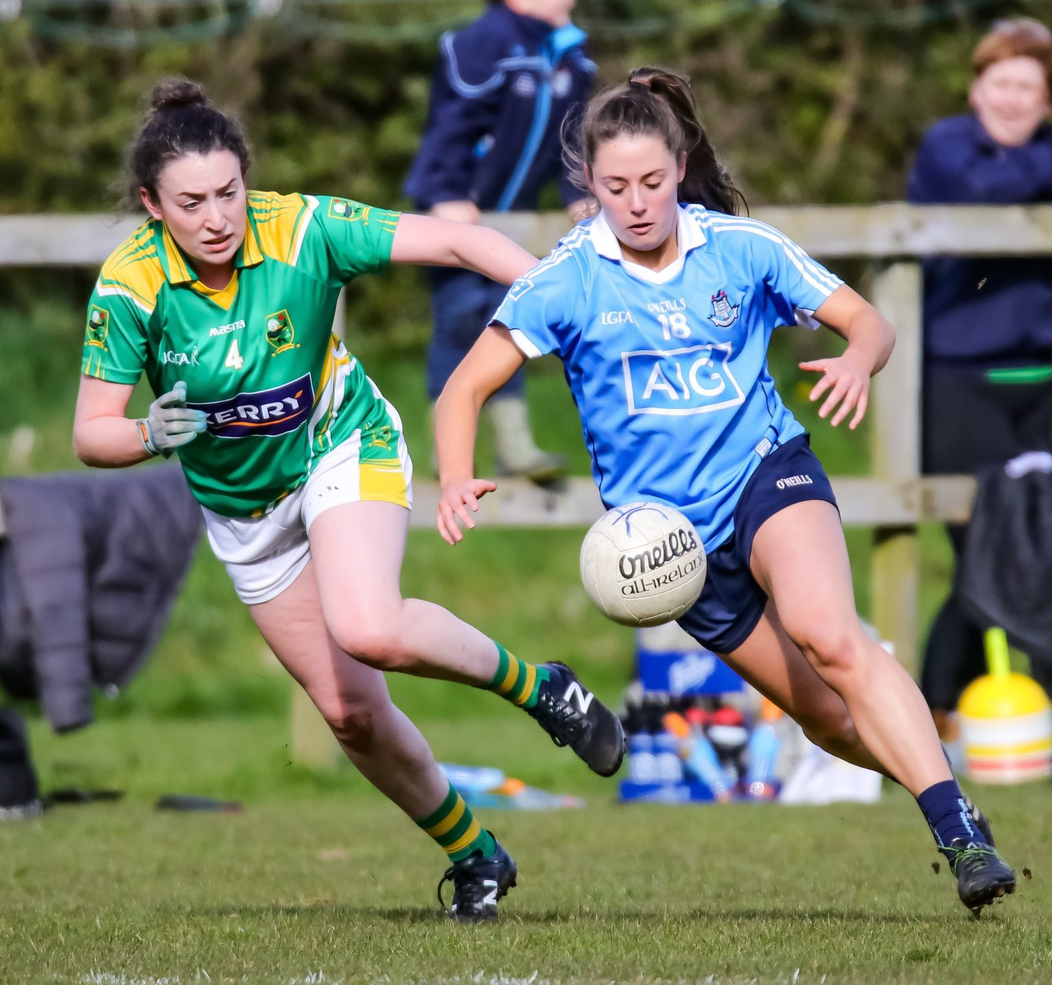 Dublin Ladies Footballers Finish Top Of Division 1 After Win Over Kerry