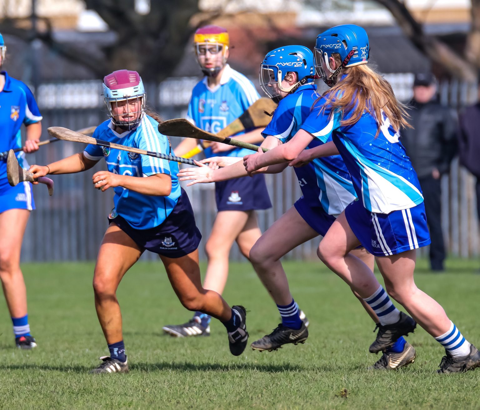 Dublin U16B Camogie Team Score Five Goals In Their Win Over Laois