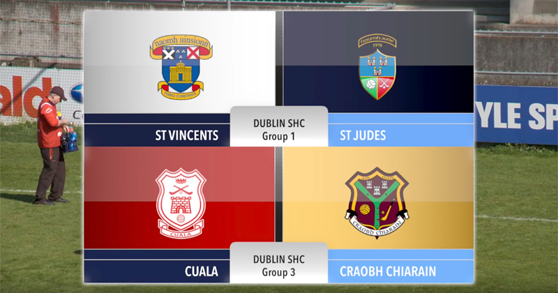 VIDEO: Wins for St. Vincents And Cuala In The Dublin Senior Hurling Championship