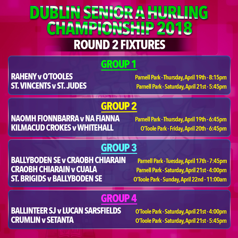 Dublin Senior A & B Hurling Championship