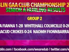 Senior Hurling Championship Results