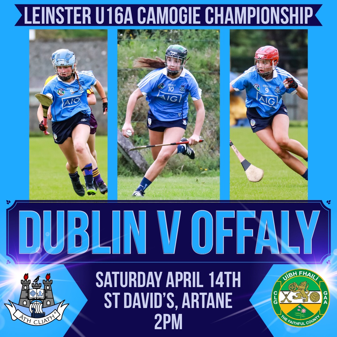 Dublin U16A Camogie Team Need To Bear Offaly To Qualify For Leinster Championship Cup Final