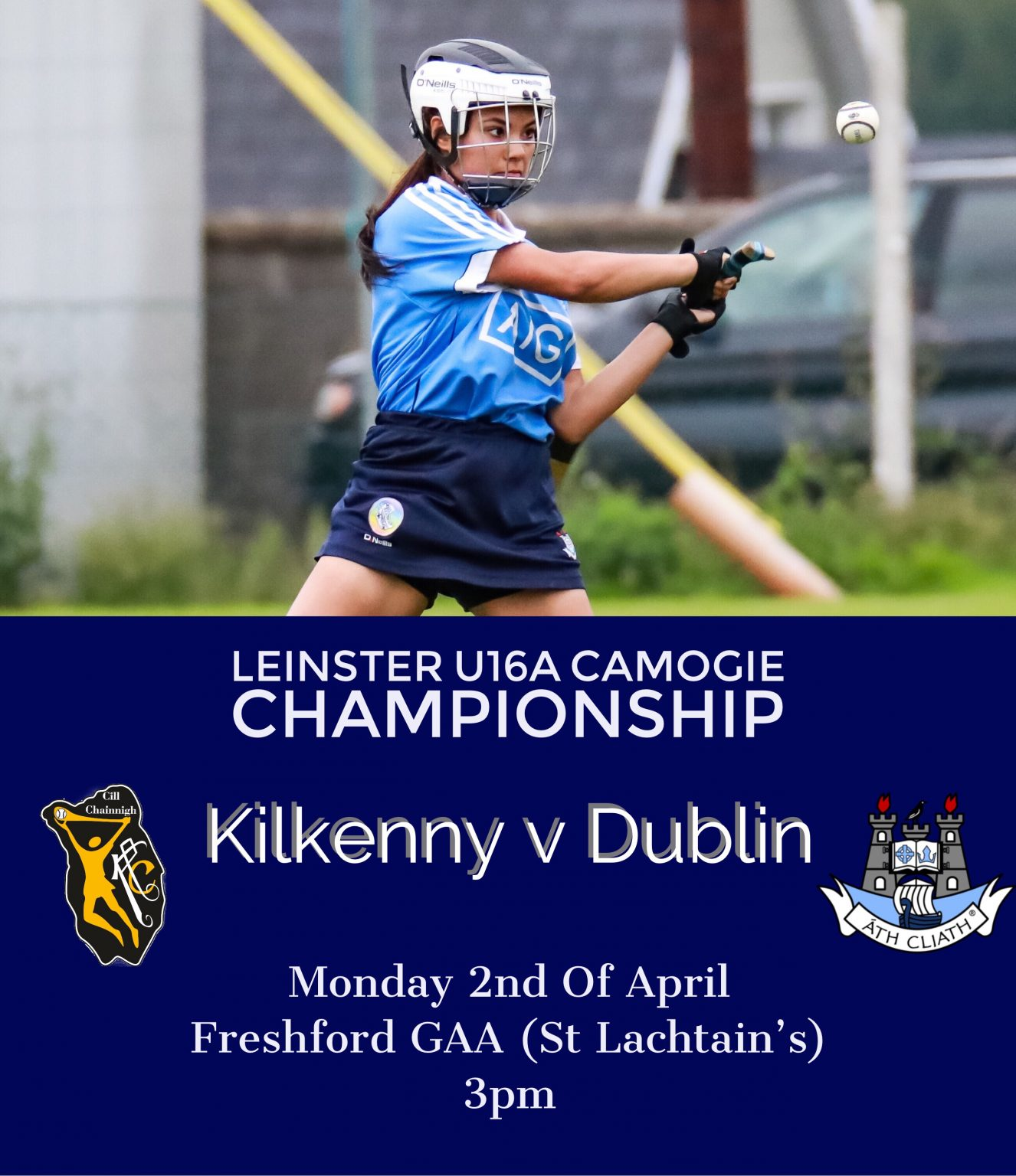 Dublin U16A Team Named For Trip To Marble County To Play Kilkenny