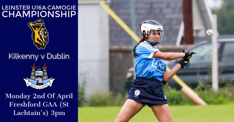 Dublin U16A Camogie Squad Travel To The Marble County For Kilkenny Clash
