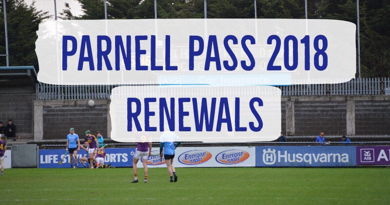 Parnell Pass Opens For Renewals On April 23rd