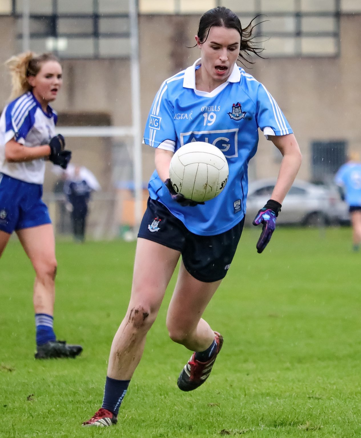 Dublin Ladies Footballers Booked Their Place In The League Semi Finals With Emphatic Win Over Monaghan