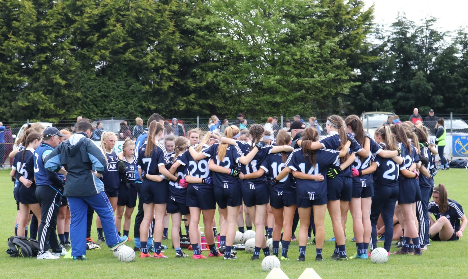 Dublin U16 Ladies Footballers Got Their Leinster Campaign Off To A Winning Start With Victory Over Kildare