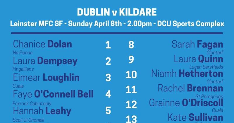 Team News: One Change For Dublin Minor Ladies Footballers For Leinster Semi Final