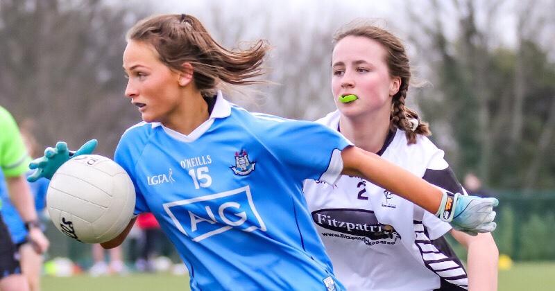 Second Half Goals Seal Leinster Semi Final Win For Dublin Ladies Minors