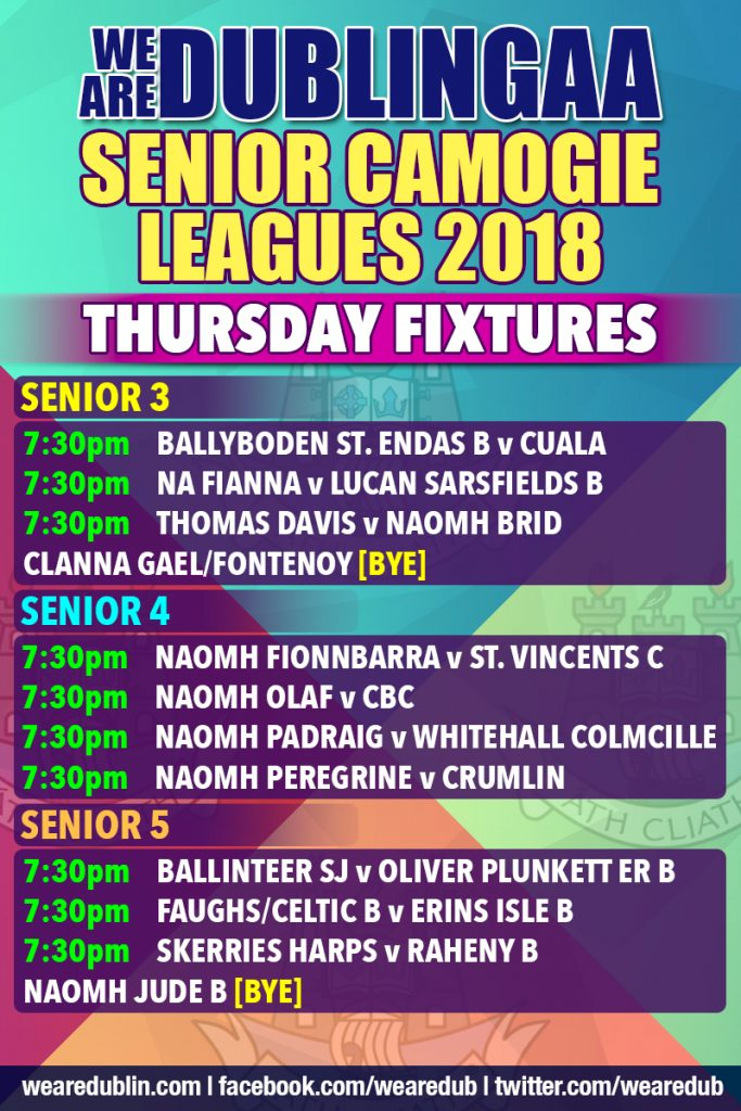 We Are Dublin Senior Camogie Leagues