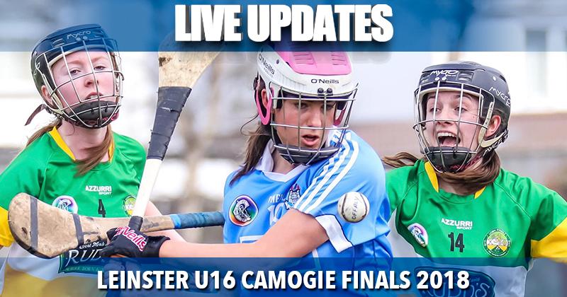 Leinster U16 Camogie Finals – Live Updates