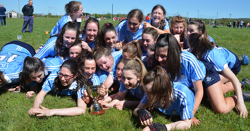 Dublin U16B Camogie Panel Capture Leinster Championship Title in Portlaoise