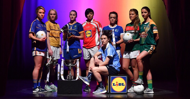 Stars Gather For Launch Of Lidl National Football League Finals