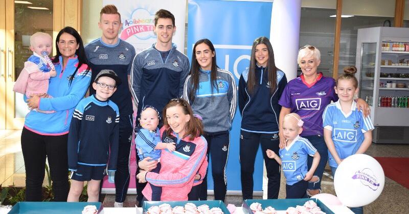 Aoibheann's Pink Tie Announced As AIG Ireland's Staff Charity