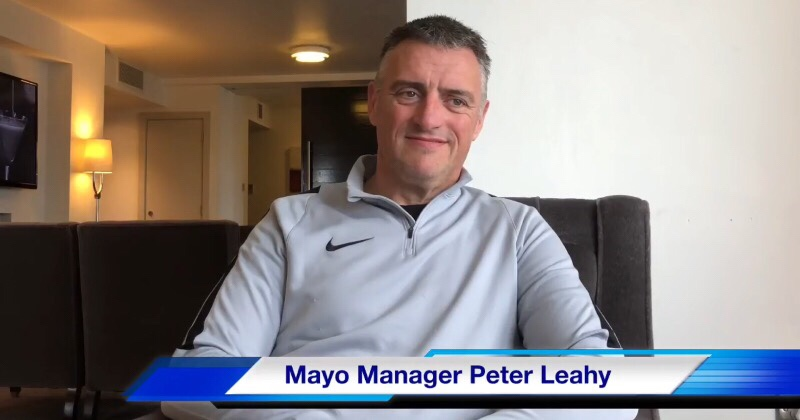 Mayo Manager Peter Leahy Discusses League Final Against Dublin