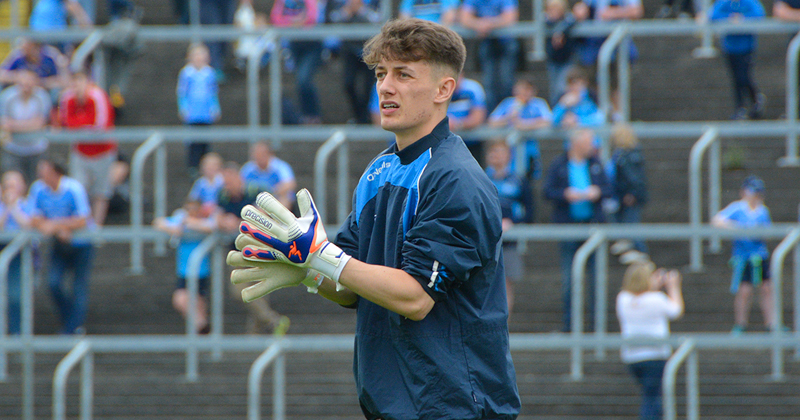 Evan Comerford - Dublin Senior Football Championship Debut
