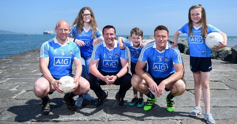 AIG Announce Sponsorship Of Dublin Masters Football Team